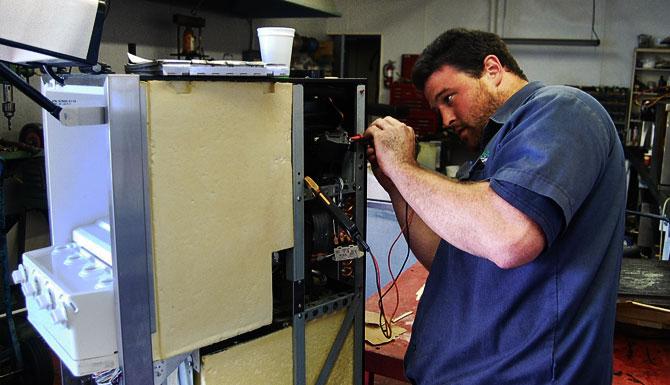 Диагностика электроники холдильного шкафа