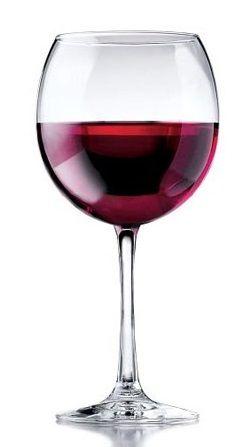 бокал для бургндских вин круглый