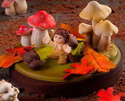 Формы для декора тортов