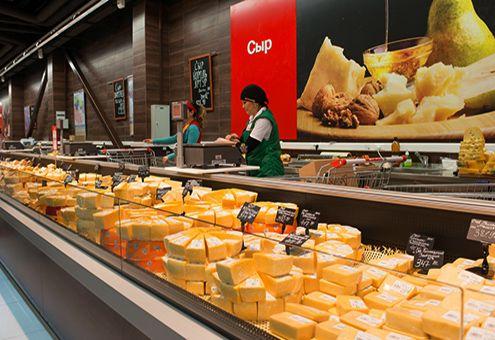 Холодильная витрина для сыра