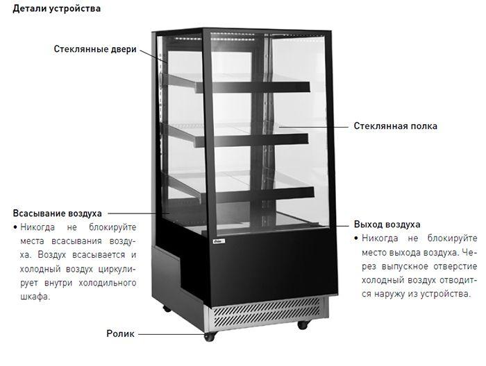 Шкаф кондитерский Hendi