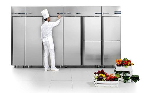 Холодильный шкаф для ресторана