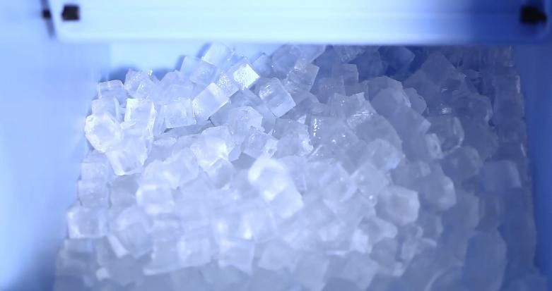 Производство кубикового льда