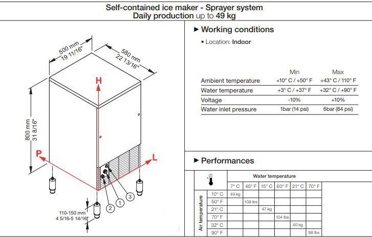 Автономный ледогенератор - Система распылителя