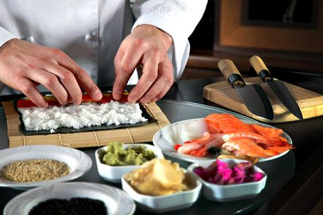 посуда для японских ресторанов