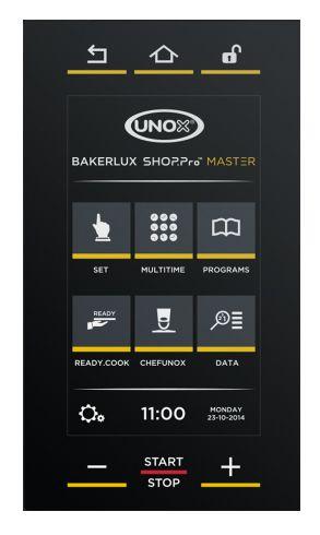 Панель управления Master конвекционной печи Unox