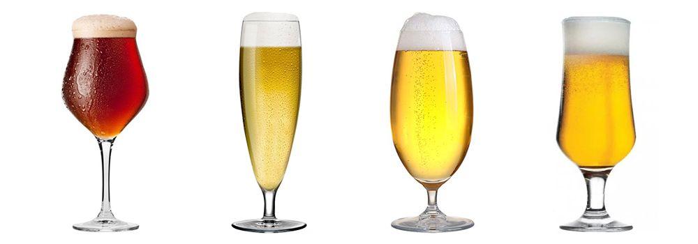 Пивные бокалы - фужеры