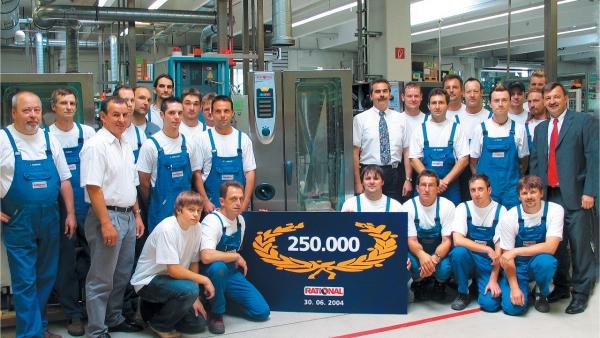 Производство 250 000-ного пароконвектомата