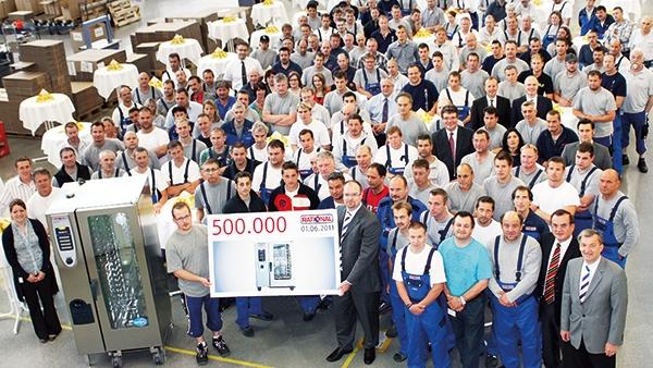 Производство 500 000-ного пароконвектомата