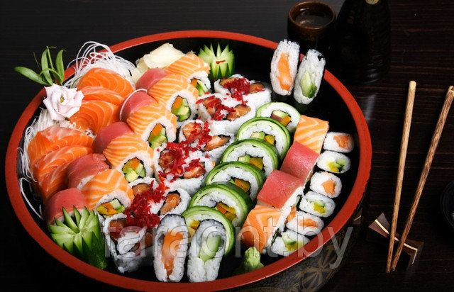 Готовое блюдо восточной кухни