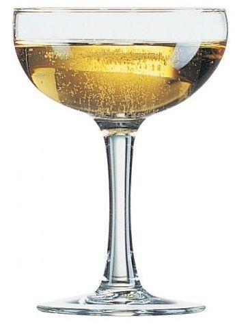 Шампанское блюдце для игристых вин