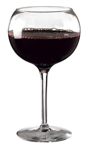 Стекляный бокал для бургндских вин
