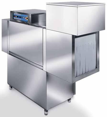 Профессиональная конвейерная посудомойка