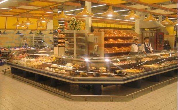торговое оборудование для магазина продуктов